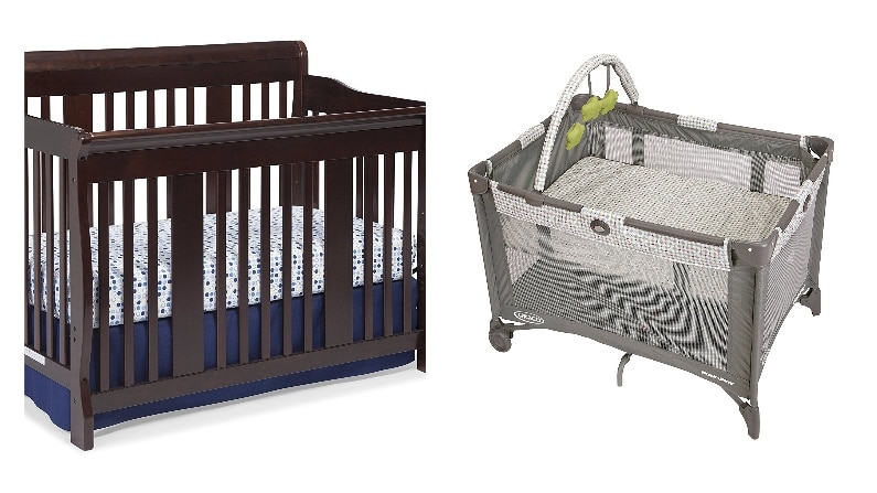 difference between baby crib bassinet
