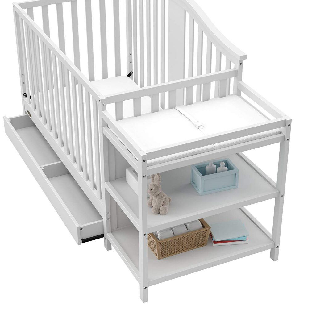 Graco Solano 4-in-1 Convertible Crib with Drawer changer review