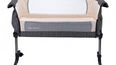 Mika Micky Bedside Sleeper Crib Review